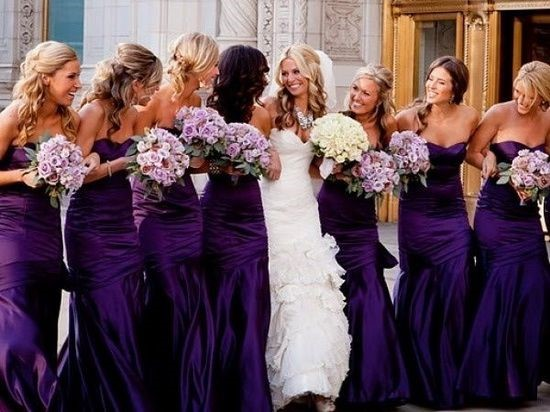 Purple Bridesmaid Dresses1