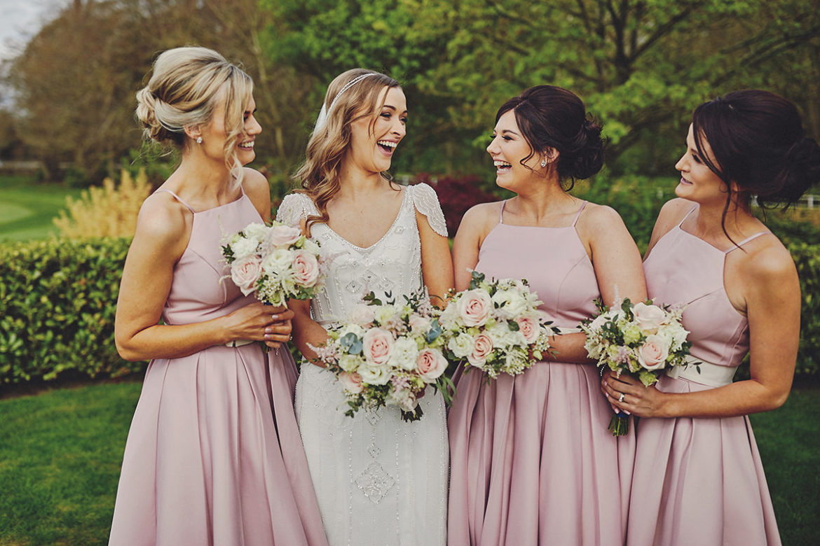 Bridesmaids Dresses for Every Colour Scheme